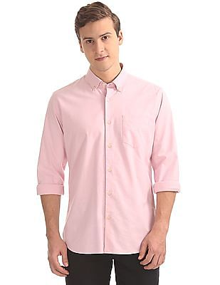 Arvind Button Down Oxford Shirt