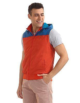 Bayisland Hooded Sleeveless Jacket