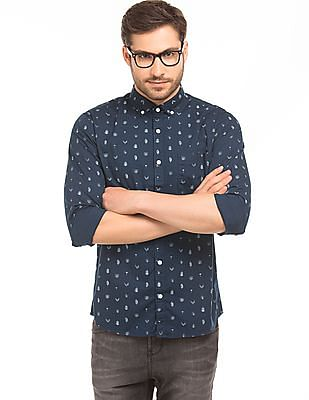 Ruggers Printed Cotton Shirt