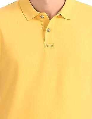 Flying Machine Slim Fit Pique Polo Shirt