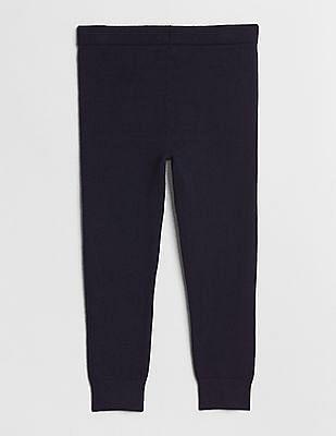 GAP Baby Blue Graphic-Knee Sweater Leggings