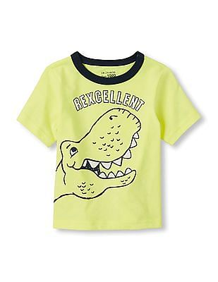 The Children's Place Baby Short Sleeve Graphic Tee