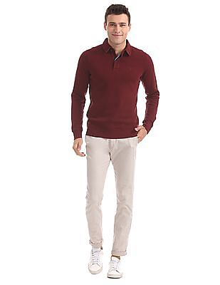 Gant Regular Fit Spread Collar Sweatshirt