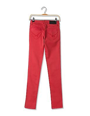 U.S. Polo Assn. Women Skinny Fit Mid Rise Jeans