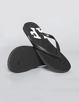 GAP Men Black Basic Flip Flops