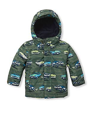 The Children's Place Baby Boy All Over Print Three-In-One Jacket