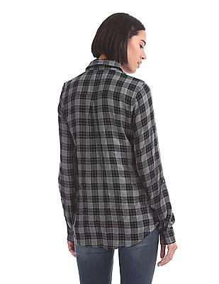 U.S. Polo Assn. Women Regular Fit Long Sleeve Shirt