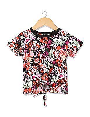 Colt Girls Short Sleeve Printed T-Shirt
