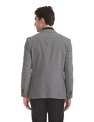 Arrow Body Tailored Regular Fit Solid Blazer