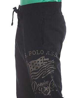 U.S. Polo Assn. Denim Co. Regular Fit Drawstring Waist Joggers