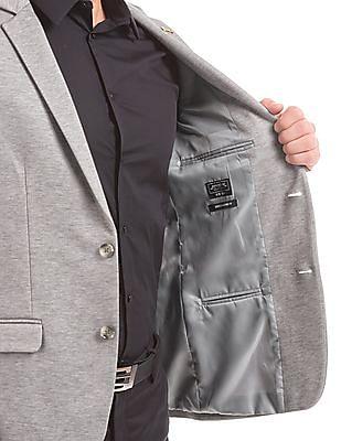 Arrow Newyork Melange Slim Fit Blazer