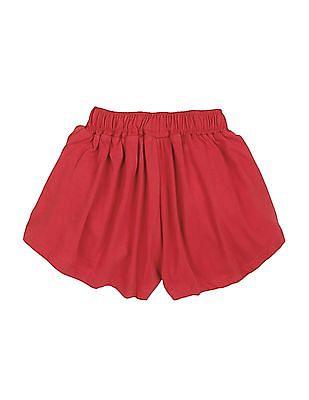 U.S. Polo Assn. Kids Girls Solid Knit Skort