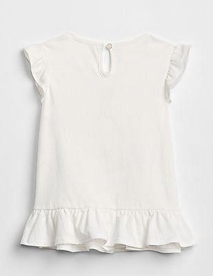 GAP Baby Graphic Peplum T-Shirt
