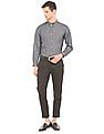 Izod Jacquard Tailored Fit Shirt