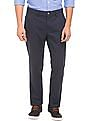U.S. Polo Assn. Slim Tapered Fit Printed Trousers