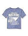 The Children's Place Toddler Boy Place Sport Short Sleeve Graphic Marl Top