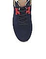 U.S. Polo Assn. Perforated Suede Lace Up Sneakers