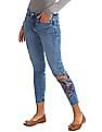 Aeropostale Jegging Fit Embroidered Jeans