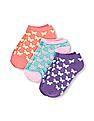 The Children's Place Girls Butterfly Ped Socks 3-Pack