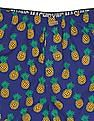 Flying Machine Pineapple Print Cotton Boxers