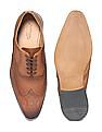 Arrow Burnished Leather Brogue Shoes