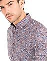 Ed Hardy Printed Slim Fit Shirt