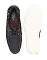 Arrow Solid Round Toe Boat Shoes
