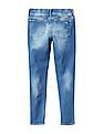 GAP Girls Blue 1969 Destructed High Stretch Skimmer Jeggings