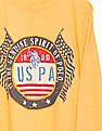 U.S. Polo Assn. Kids Boys Regular Fit Crew Neck T-Shirt
