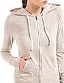 Aeropostale Hooded Zip Up Sweatshirt