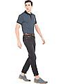 U.S. Polo Assn. Printed Slim Fit Polo Shirt