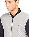 Arrow Sports Quilted Bomber Jacket