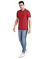 Arrow Sports Regular Fit Pique Polo Shirt