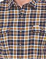 U.S. Polo Assn. Denim Co. Slim Fit Plaid Check Shirt