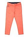 U.S. Polo Assn. Kids Girls Slim Fit Dyed Jeans