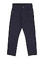 FM Boys Solid Skinny Fit Jeans