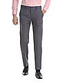 Excalibur Regular Fit Patterned Trousers