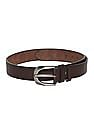 Colt Brown Adjustable Metallic Buckle Belt
