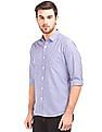 Excalibur Slim Fit Gingham Check Shirt