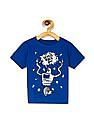 The Children's Place Blue Toddler Boy Crew Neck Robot Graphic T-Shirt