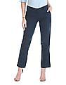 Arrow Woman Slim Fit Pleated Front Trousers