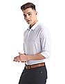 USPA Tailored Slim Fit Pinstripe Shirt