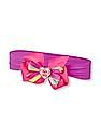 The Children's Place Toddler Girl 'Big Sis' Bow Neon Headwrap