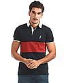 Nautica Short Sleeve Quilted Polo